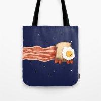Nyan Bacon Tote Bag