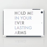 Vampire Weekend - HOLD ME IN YOUR EVERLASTING ARMS iPad Case