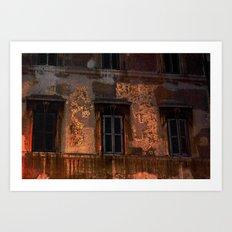 Three - Windows Art Print