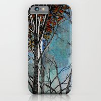 iPhone & iPod Case featuring Land of the Silver Birch by Leanna Rosengren