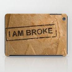 Broke iPad Case