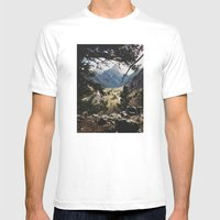 San Juan Forest Mens Fitted Tee White SMALL