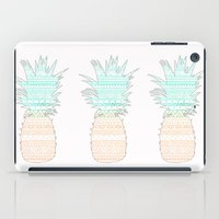 Tribal Pineapple  iPad Case