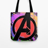 Avenge paint Tote Bag
