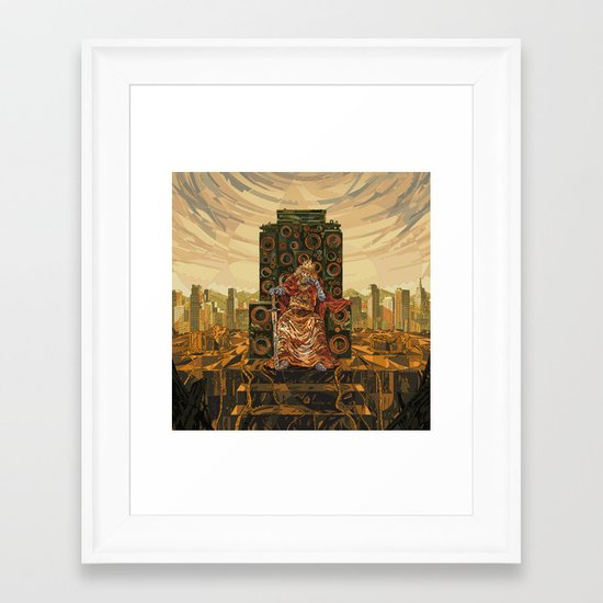 HR-FM - King Deluxe Framed Art Print