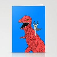 Dinosaur B Forever Stationery Cards