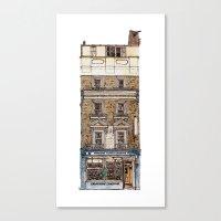 Campkins, Kings Parade, Cambridge, UK Canvas Print
