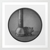 The Mouse & The Flashlig… Art Print