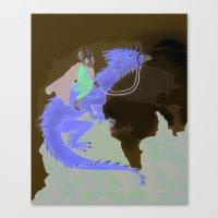 Fantasy Theme Canvas Print