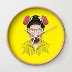 Breaking Bad - Walter White in Lab Gear Wall Clock