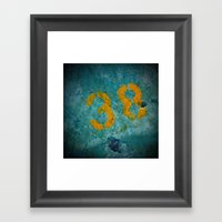 38 Framed Art Print