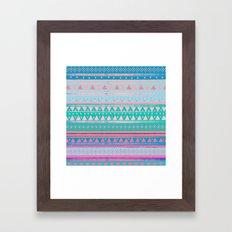 SURF BANDANA Framed Art Print
