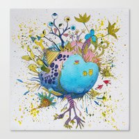 the swamp planet Canvas Print