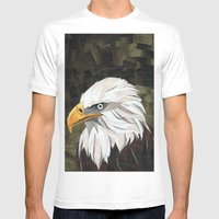 Eagle! Mens Fitted Tee White SMALL