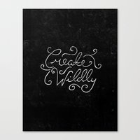 Special Edition Circles 2013 Prints - Create Wildly Canvas Print