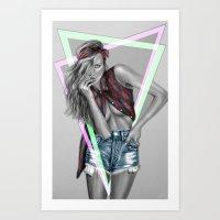+ Take Care II + Art Print