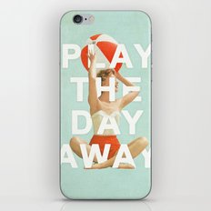 Play The Day Away iPhone & iPod Skin