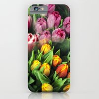 Tulips At Market iPhone 6 Slim Case