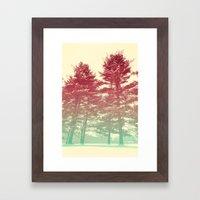 Winter's Voice Framed Art Print