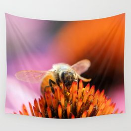 Wall Tapestry - Happy bee - kealaphotography