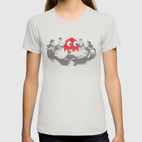 Medium Difficulty Womens Fitted Tee Silver SMALL
