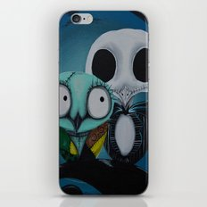 The Owl Jack And Sally iPhone & iPod Skin