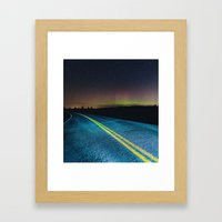 Road To The North Framed Art Print