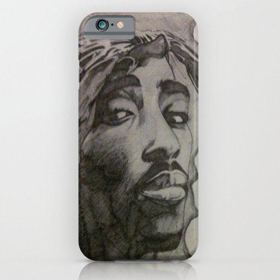 Tupac & Biggie Pen Drawing iPhone & iPod Case