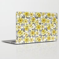 Daffodil Daze - Yellow &… Laptop & iPad Skin