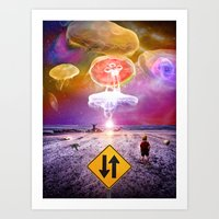 The Day of the Jellies Art Print