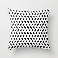 rhombus bomb Throw Pillow