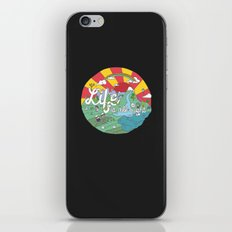 Life is All Right (Color) iPhone & iPod Skin