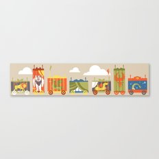 Beast Train Canvas Print