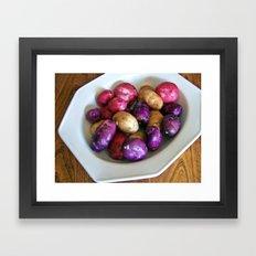 Colorful Harvest Framed Art Print