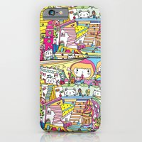 cartoon wonderland iPhone 6 Slim Case