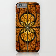 Glowing Feathers Fractal Art iPhone 6 Slim Case