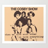 The Cosby Have No Pride Art Print