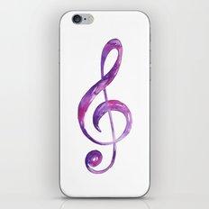 Trebelclef iPhone & iPod Skin