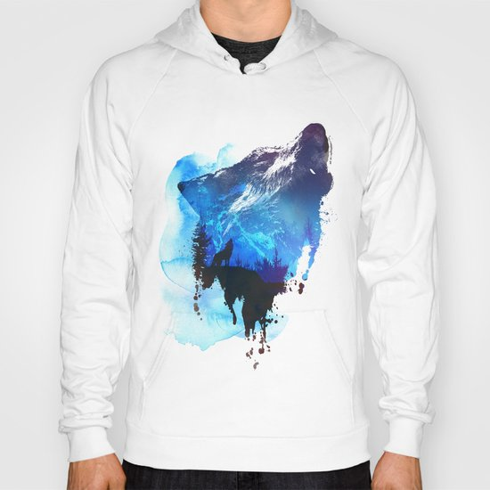 Alone as a wolf Hoody