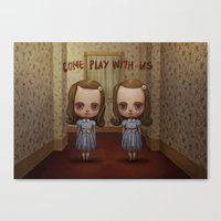 The Grady Twins Canvas Print