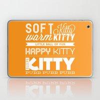 Orange Kitty Laptop & iPad Skin