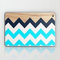 Chevron & Wood Laptop & iPad Skin