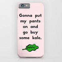 Gonna put my pants on and go buy some kale iPhone 6 Slim Case