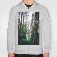 Waterfall amongst trees Hoody
