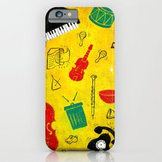 Music and Noise iPhone 6 Slim Case