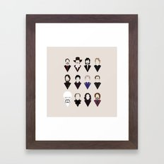 12 Alan Rickmans Framed Art Print