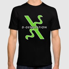 D-Generation  X Mens Fitted Tee Black SMALL
