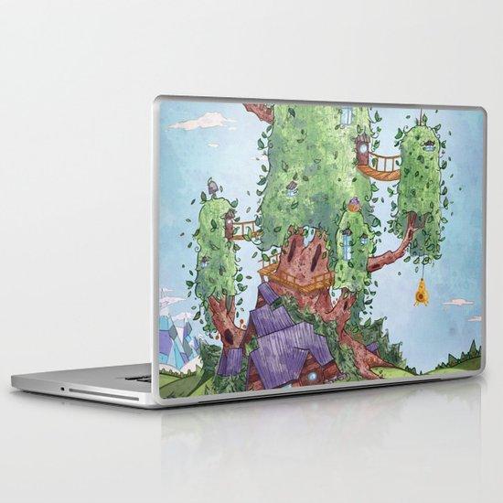 Ode to Finn and Jake Laptop & iPad Skin