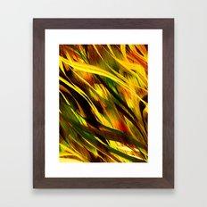 CAMO CALI Framed Art Print