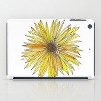 Yellow Gerber Daisy iPad Case